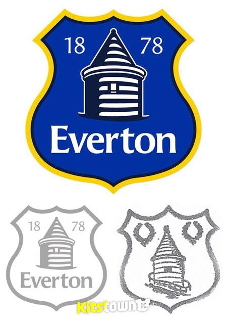 球衫堂俱乐部_埃弗顿俱乐部公布新队徽 , @球衫堂 Kitstown