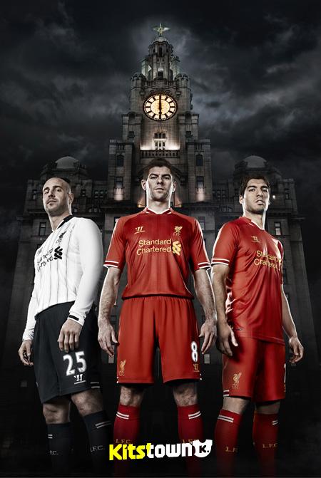 利物浦2013-14赛季主场球衣 © kitstown.com 球衫堂