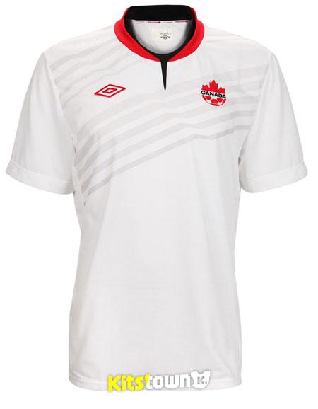 加拿大国家队2013-14赛季客场球衣 © kitstown.com 球衫堂