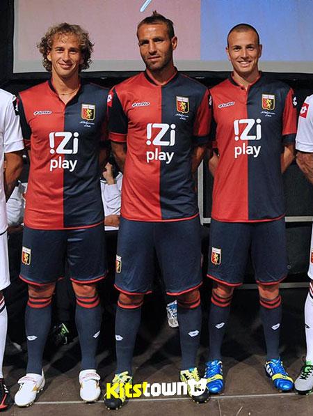 热那亚2013-14赛季主客场球衣 © kitstown.com 球衫堂