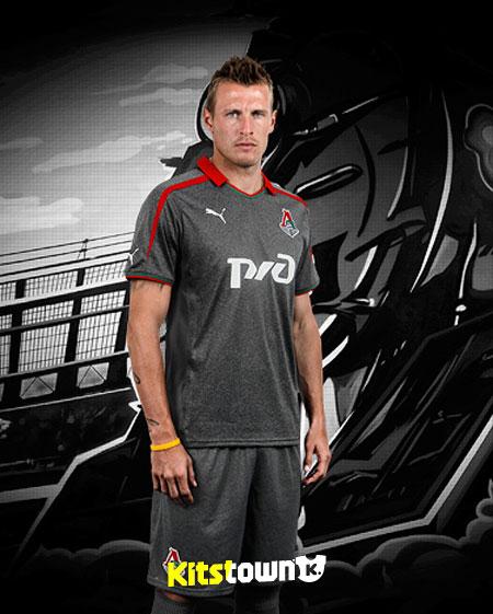 莫斯科火车头2013-14赛季主客场球衣 © kitstown.com 球衫堂