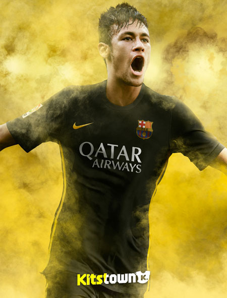 巴塞罗那2013-14赛季第二客场球衣 © kitstown.com 球衫堂