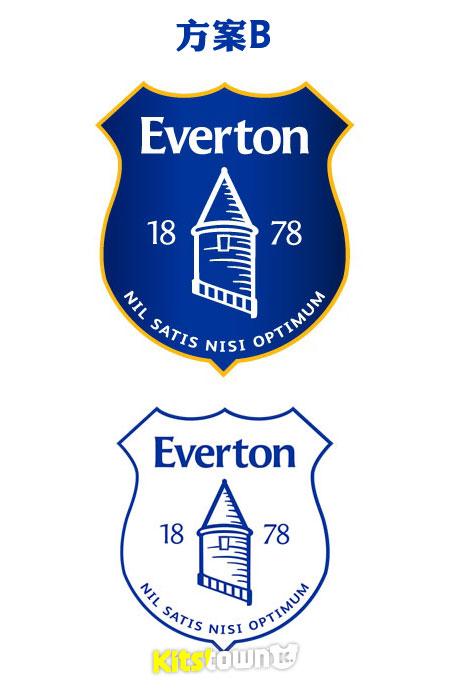 埃弗顿俱乐部新队徽投票启动 © kitstown.com 球衫堂