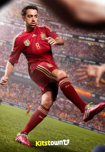 西班牙国家队2014世界杯主场球衣 © kitstown.com 球衫堂