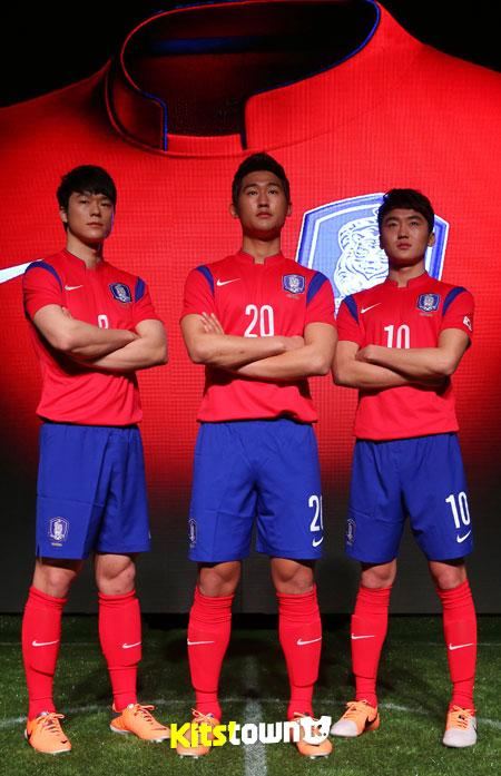 2014韩国国家队阵容_韩国国家队2014世界杯主场球衣 , @球衫堂 kitstown