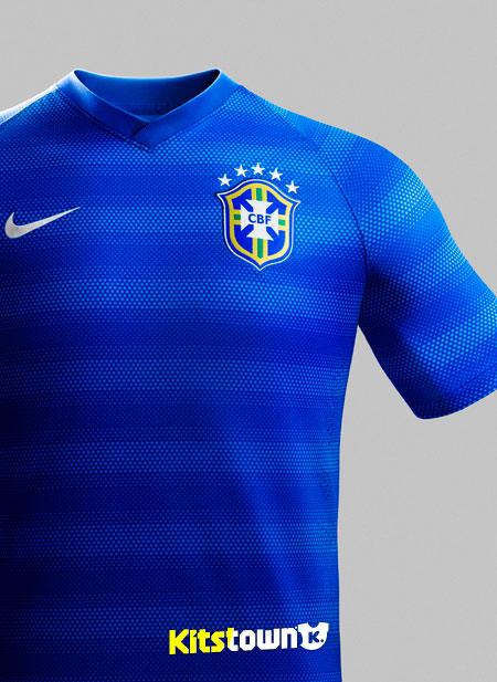 巴西国家队2014世界杯客场球衣图片