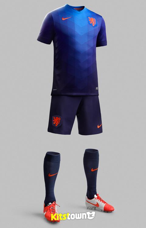 荷兰国家队2014世界杯客场球衣 © kitstown.com 球衫堂
