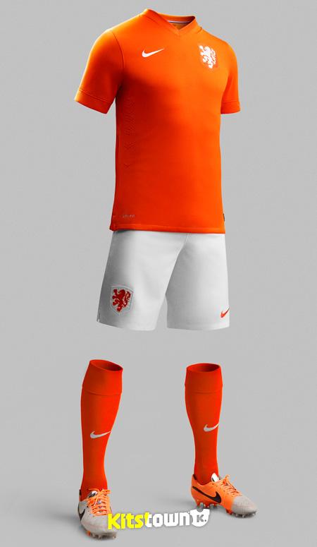 荷兰国家队2014世界杯主场球衣 © kitstown.com 球衫堂