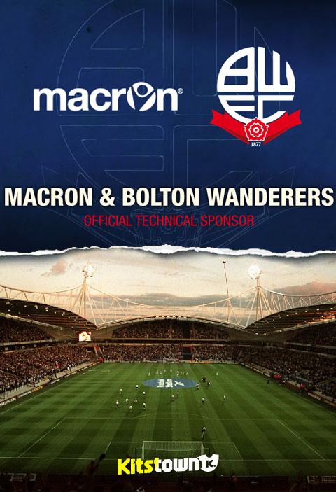 MACRON和博尔顿俱乐部宣布合作伙伴关系 © kitstown.com 球衫堂