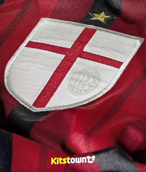 AC米兰2014-15赛季主场球衣 © kitstown.com 球衫堂