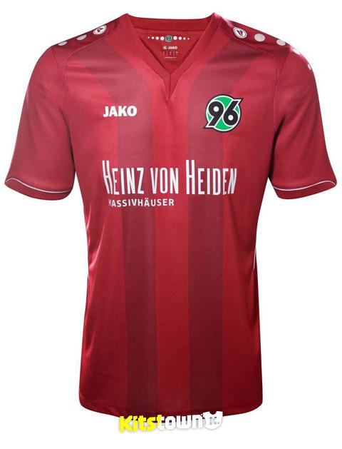 汉诺威96 2014-15赛季主客场球衣 © kitstown.com 球衫堂
