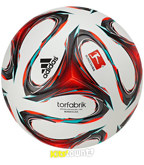 德甲联赛2014-15赛季官方比赛用球 © kitstown.com 球衫堂