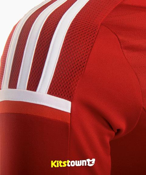 比利时国家队2014-16赛季主客场球衣 © kitstown.com 球衫堂