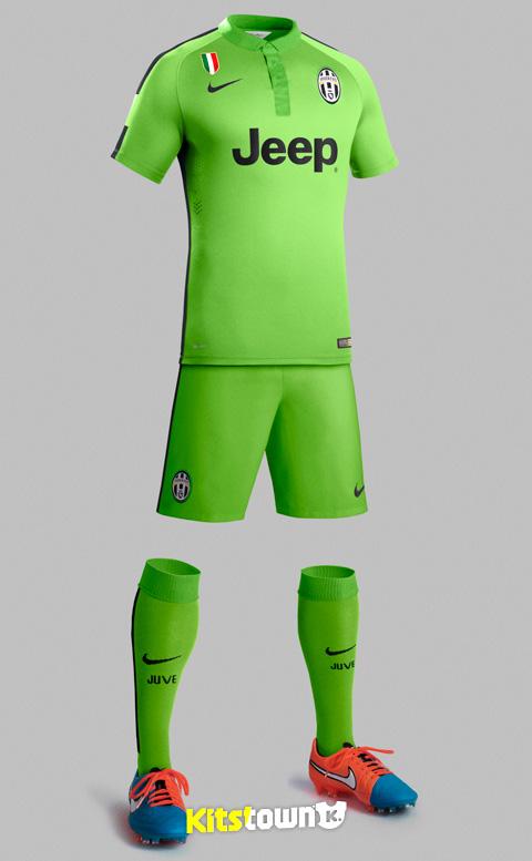 尤文图斯2014-15赛季第二客场球衣 © kitstown.com 球衫堂