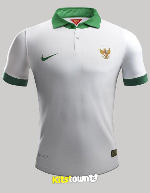 印度小卹�*���9�b��_印度尼西亚国家队2014-15赛季主客场球衣