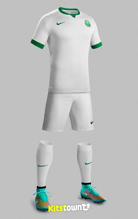 沙特阿拉伯2014-15赛季主客场球衣 © kitstown.com 球衫堂