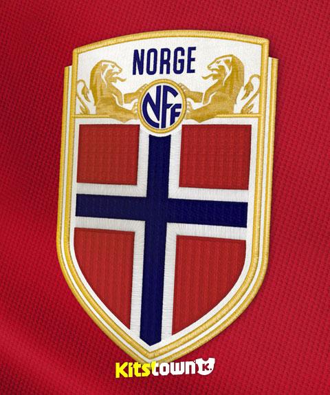 挪威足协新标识及国家队徽章 © kitstown.com 球衫堂