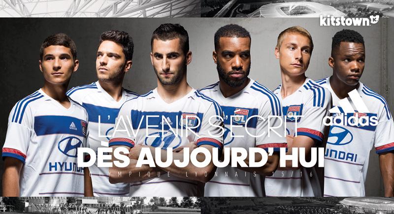 里昂2015-16赛季主客场球衣 © kitstown.com 球衫堂