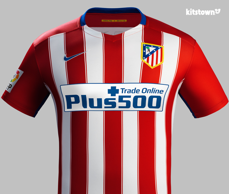 马德里竞技2015-16赛季主场球衣 © kitstown.com 球衫堂