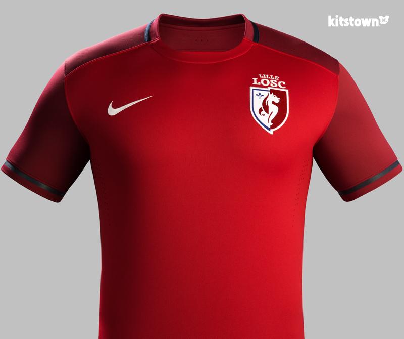 里尔2015-16赛季主场球衣 © kitstown.com 球衫堂