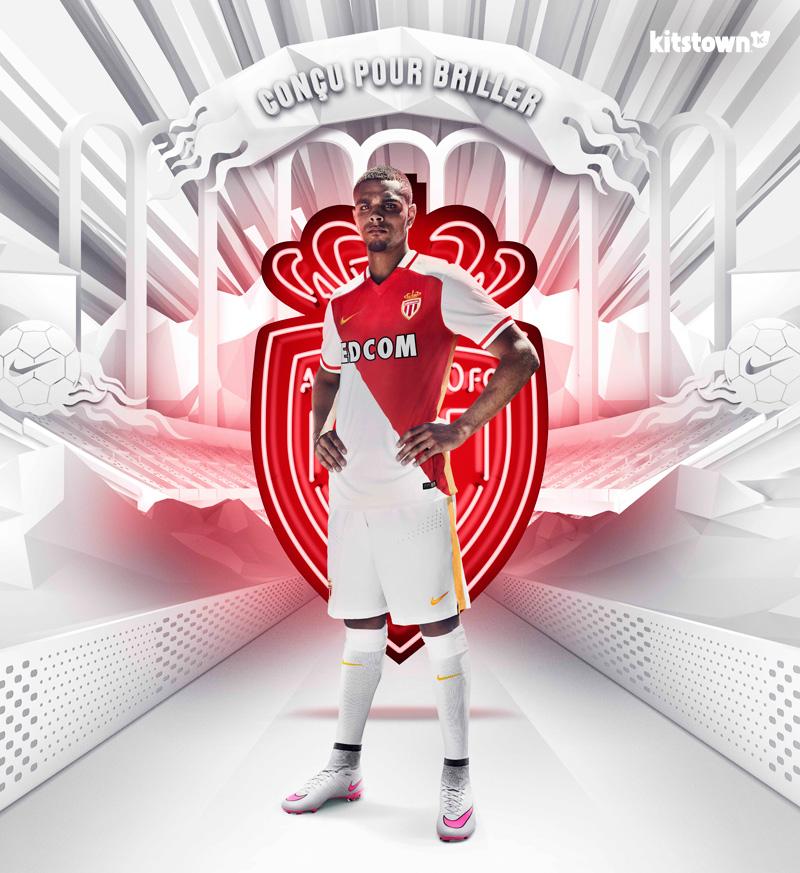 摩纳哥2015-16赛季主场球衣 © kitstown.com 球衫堂