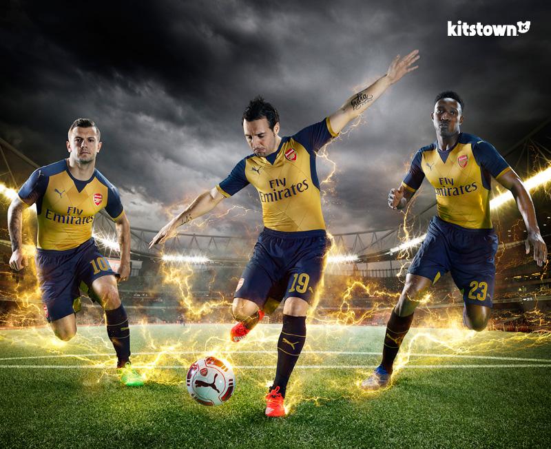 阿森纳2015-16赛季客场球衣 © kitstown.com 球衫堂