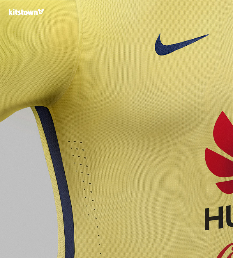 美洲俱乐部2015-16赛季主客场球衣 © kitstown.com 球衫堂