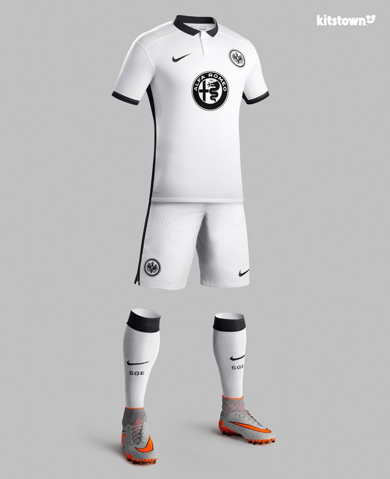 法兰克福2015-16赛季客场球衣 © kitstown.com 球衫堂