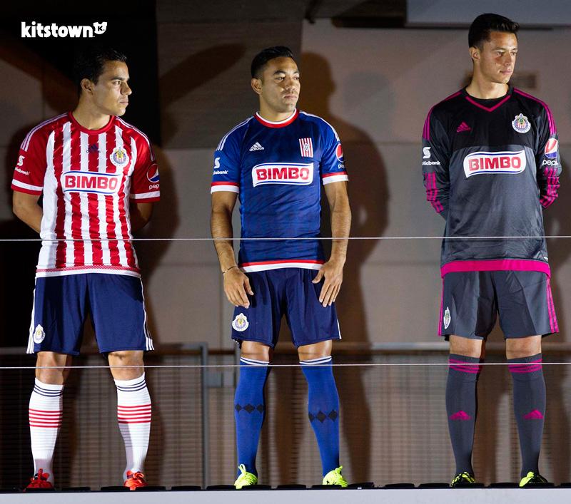 瓜达拉哈拉2015-16赛季主客场球衣 © kitstown.com 球衫堂