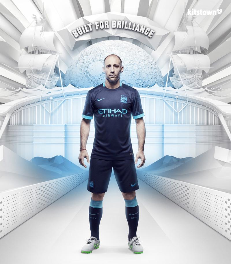 曼彻斯特城2015-16赛季客场球衣 © kitstown.com 球衫堂