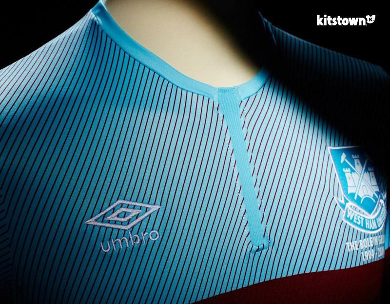 西汉姆联2015-16赛季客场球衣 © kitstown.com 球衫堂