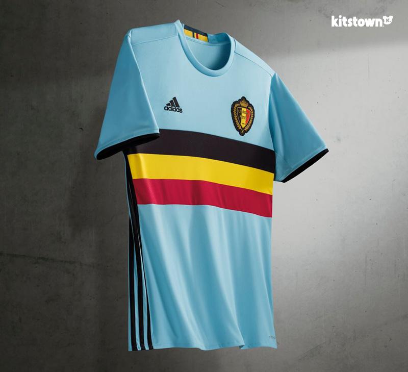 比利时国家队2016欧洲杯客场球衣 © kitstown.com 球衫堂