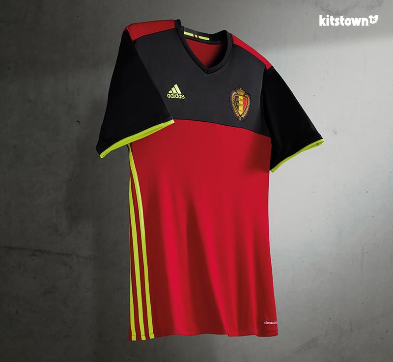 比利时国家队2016欧洲杯主场球衣 © kitstown.com 球衫堂