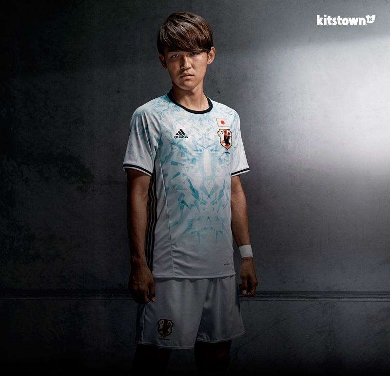日本国家队2016-17赛季客场球衣 © kitstown.com 球衫堂
