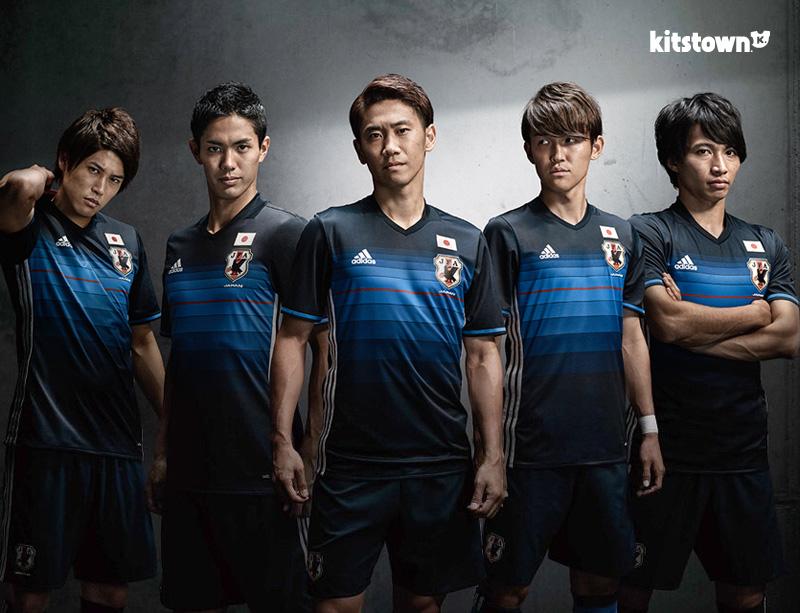 日本国家队2016-17赛季主场球衣 © kitstown.com 球衫堂