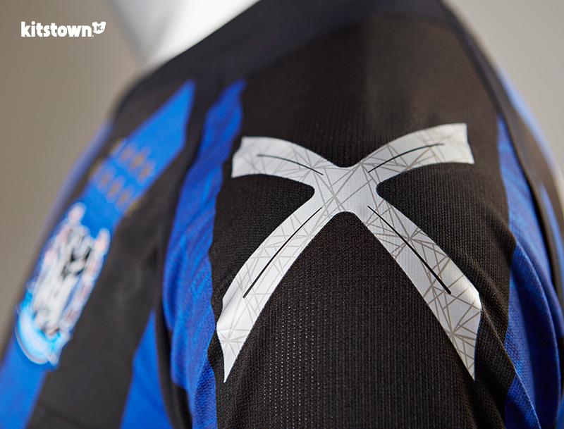 大阪钢巴2016赛季主客场球衣 © kitstown.com 球衫堂