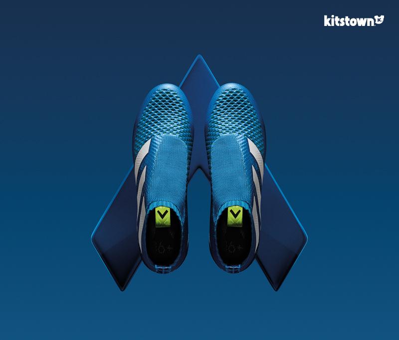 阿迪达斯推出全新蓝色ACE 16+ PURECONTROL战靴 © kitstown.com 球衫堂