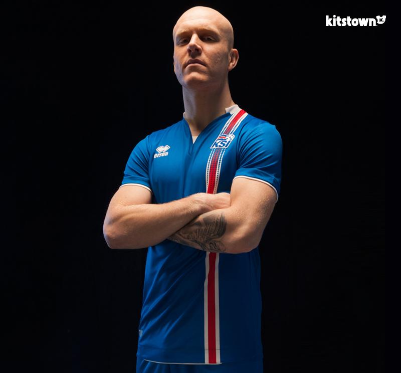 冰岛国家队2016欧洲杯主客场球衣 © kitstown.com 球衫堂