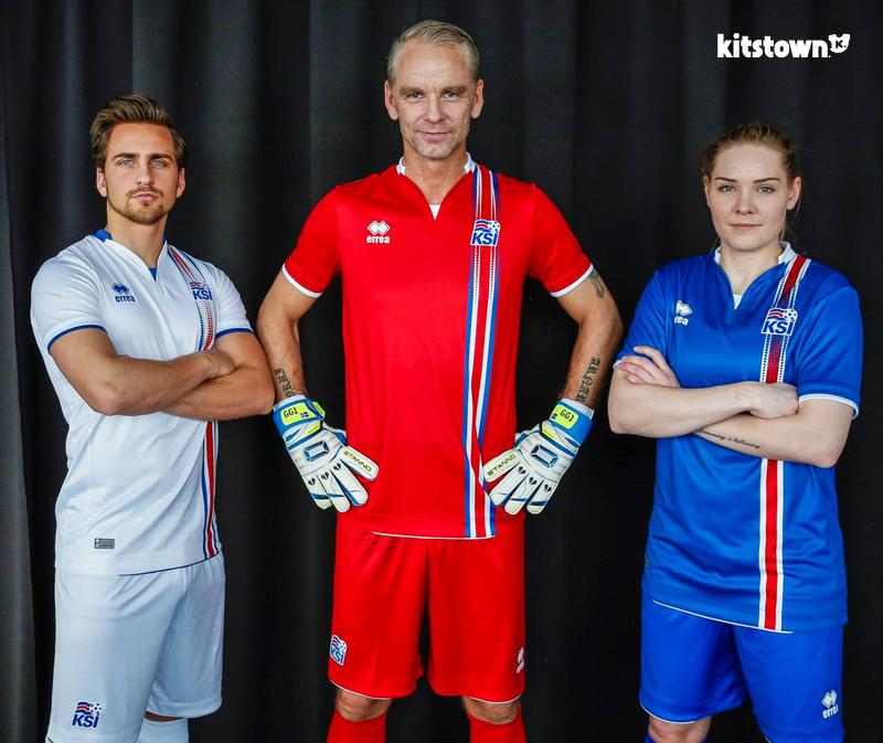 冰岛国家队2016欧洲杯主客场球衣