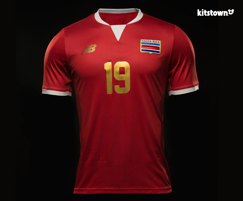 哥斯达黎加国家队2016百年美洲杯特别球衣 © kitstown.com 球衫堂