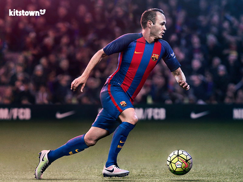 巴塞罗那2016-17赛季主场球衣 © kitstown.com 球衫堂