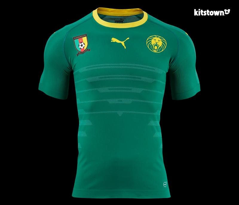 喀麦隆国家队2016-17赛季主场球衣 © kitstown.com 球衫堂