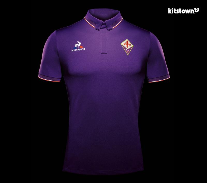 佛罗伦萨2016-17赛季主客场球衣 © kitstown.com 球衫堂