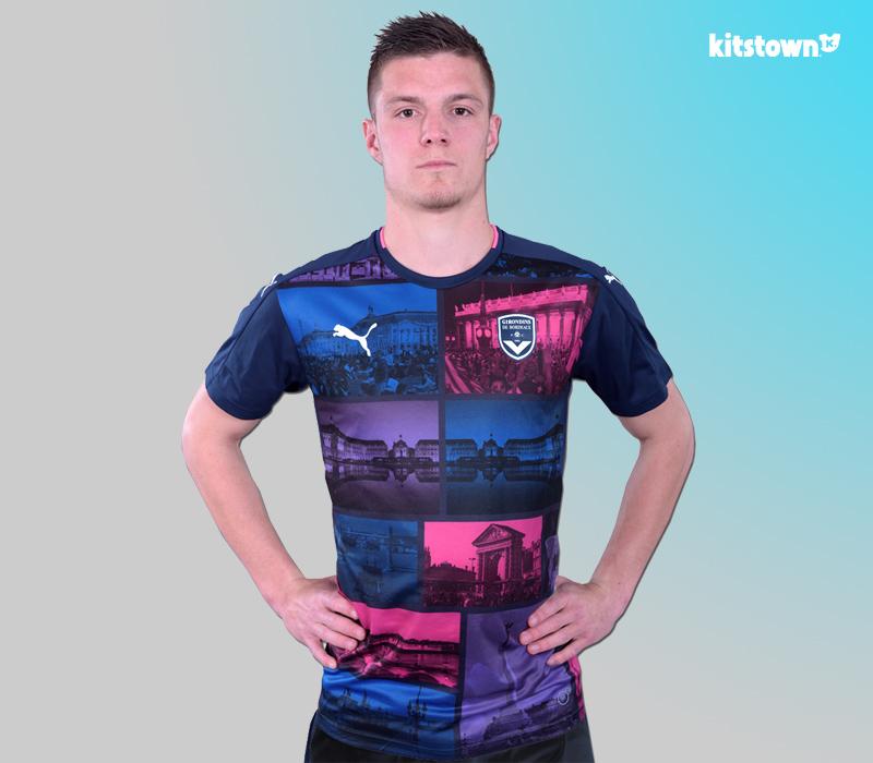 波尔多2016-17赛季第二客场球衣 © kitstown.com 球衫堂