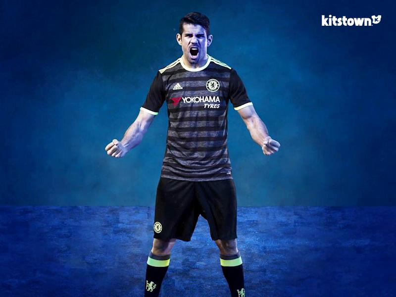 切尔西2016-17赛季客场球衣 © kitstown.com 球衫堂