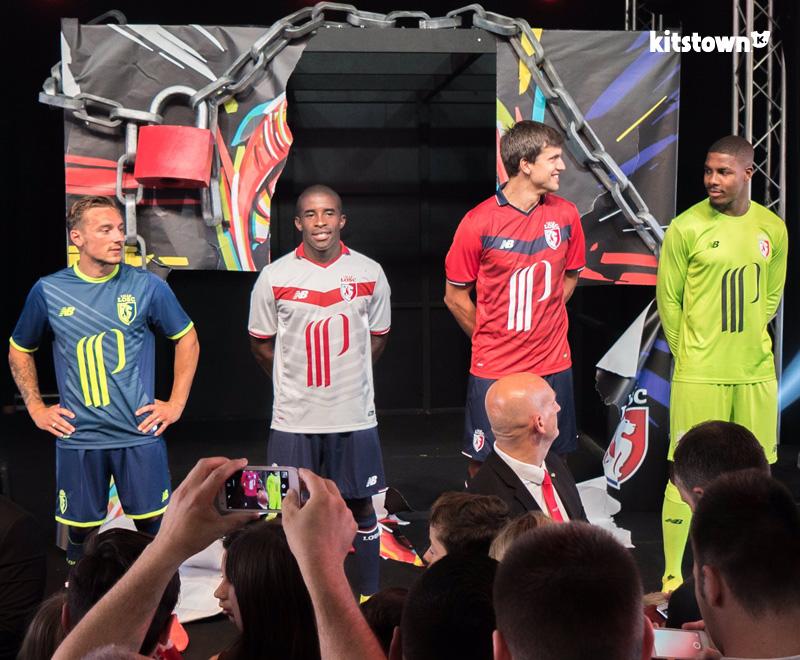 里尔2016-17赛季主客场球衣 © kitstown.com 球衫堂
