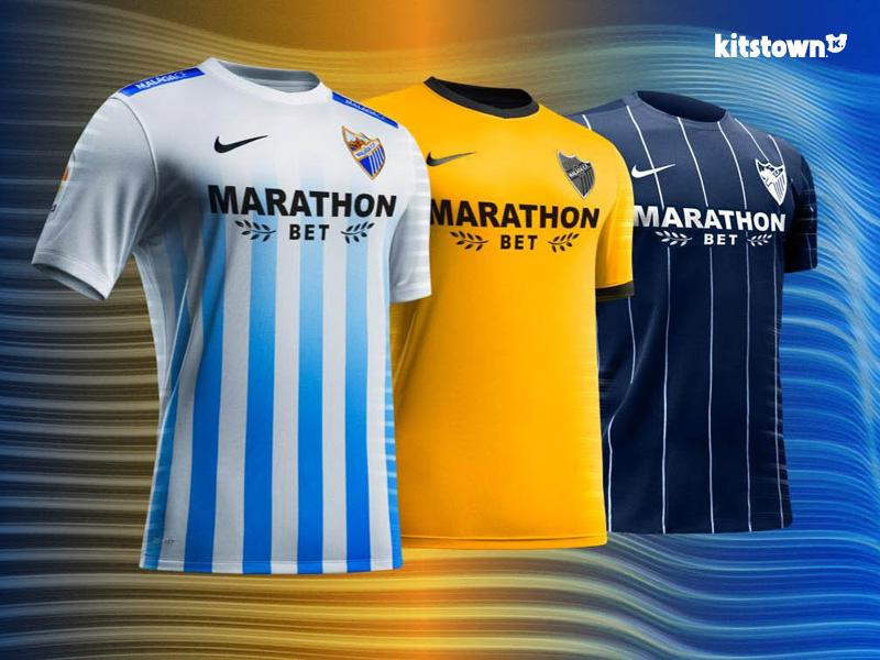 马拉加2016-17赛季主客场球衣 © kitstown.com 球衫堂