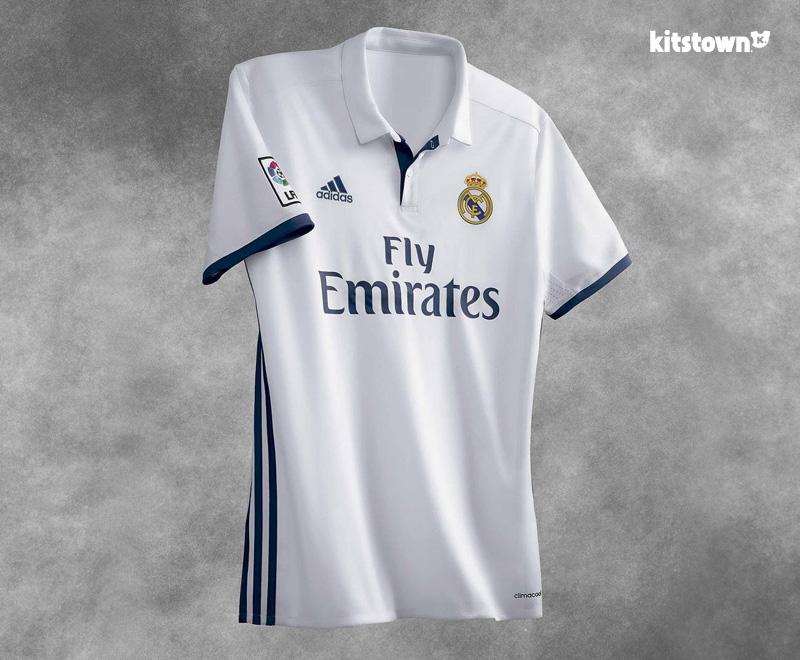皇家马德里2016-17赛季主场球衣 © kitstown.com 球衫堂