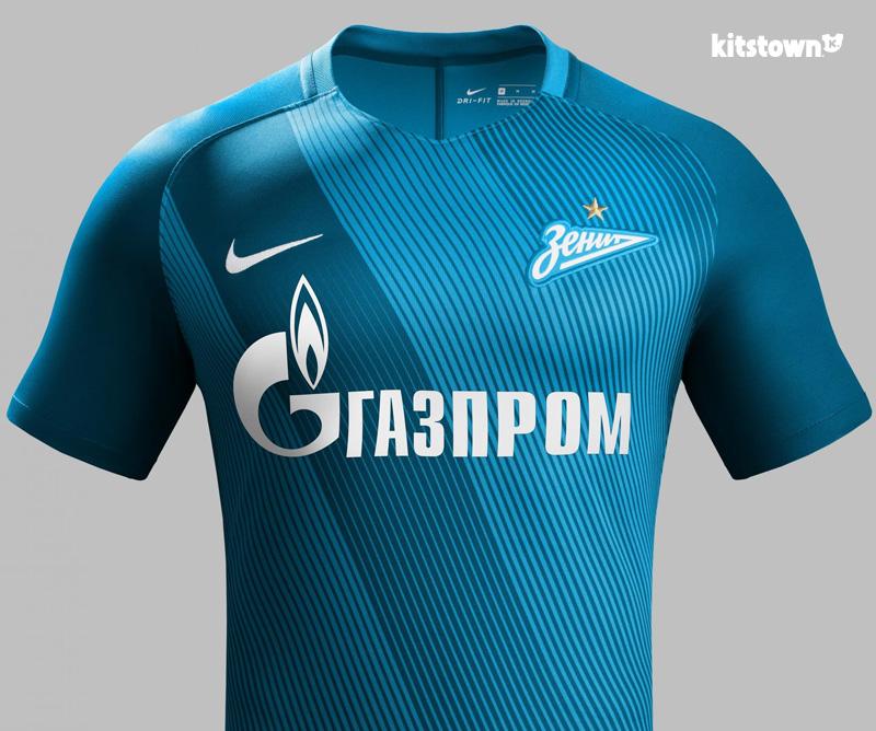 圣彼得堡泽尼特2016-17赛季主客场球衣 © kitstown.com 球衫堂