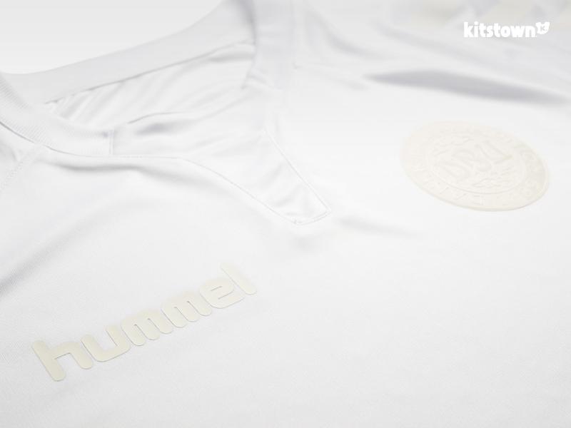 丹麦国家队2016全白色特别球衣 © kitstown.com 球衫堂